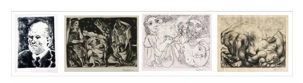 A guided tour to explore Picasso's intaglio prints